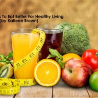 15 Ways to Eat Better For Healthy Living- Guest Post by Katleen Brown