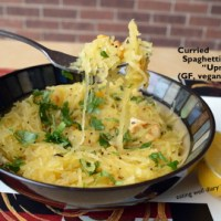 Roasted, Curried Spaghetti Squash or Upma