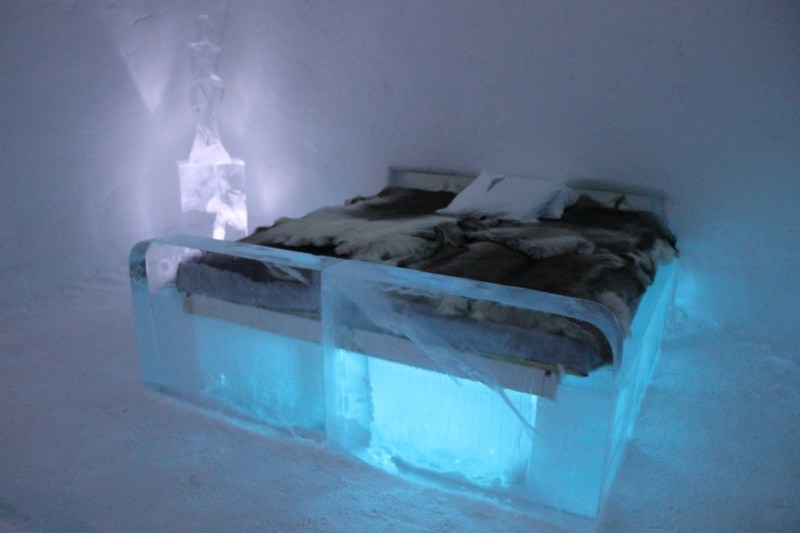 ICEHOTEL, Swedish Lapland - ice room