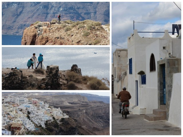Santorini, Greece (incl one of those weddings)