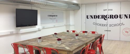 Underground Cookery School_Dining Space