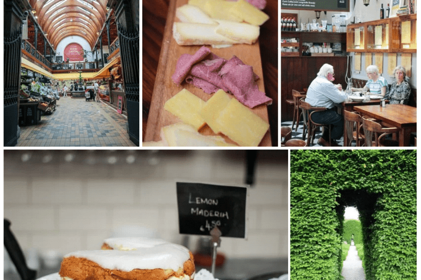 Cork! English Market, Farmgate Café and Ballymaloe Gardens