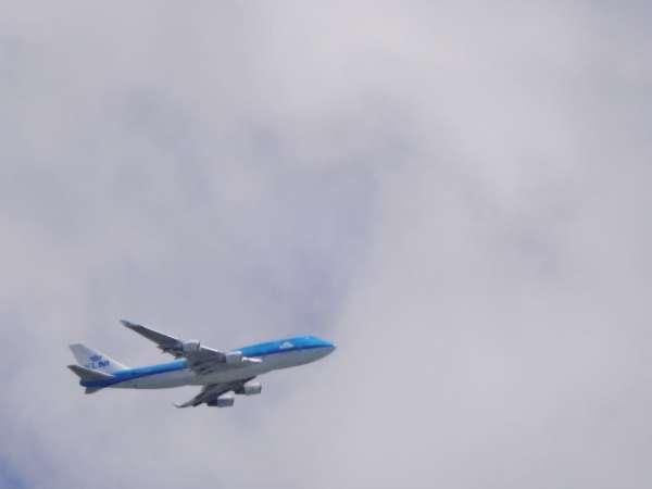 KLM above