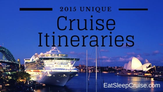 Unique Cruise Itineraries