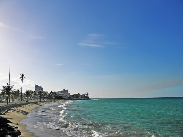 Best Public Beach Near The Cruise Port In San Juan
