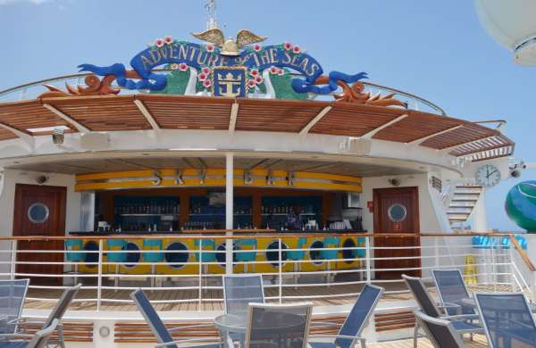 Sky Bar on Adventure of the Seas