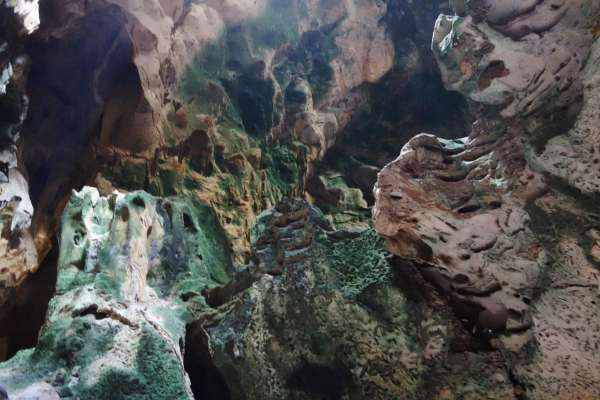 Hato Caves in Curacao View