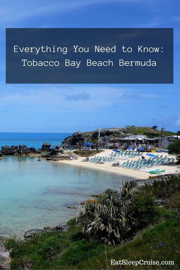 Tobacco Bay Beach Bermuda