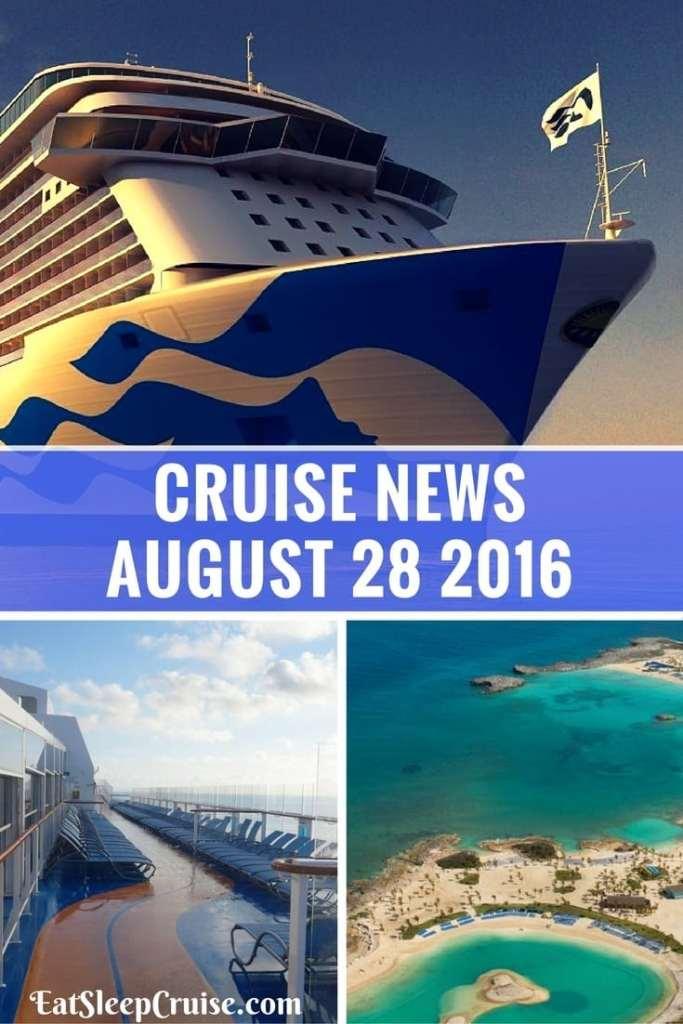 Cruise News August 28th