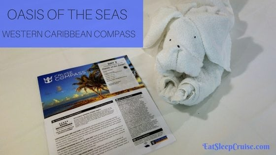 Oasis of the Seas Compass Western Caribbean