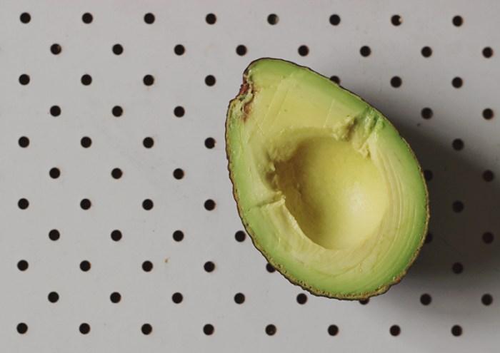 miso toast with avocado