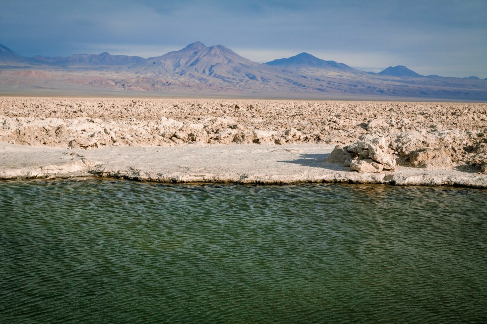 Salar de Atacama is Chile's largest salt flat and a must see when visiting the region | www.eatworktravel.com