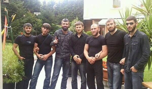 Sayfullakh in jeans after he first came to Syria.