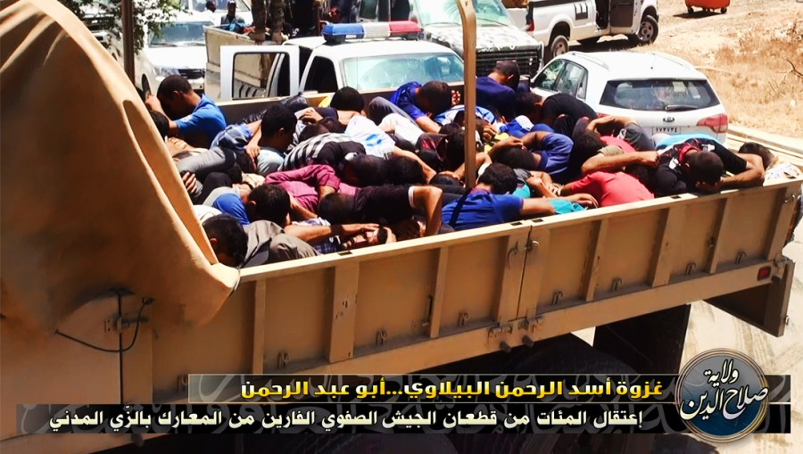 ISIS ROUNDUP OF DETAINEES 2