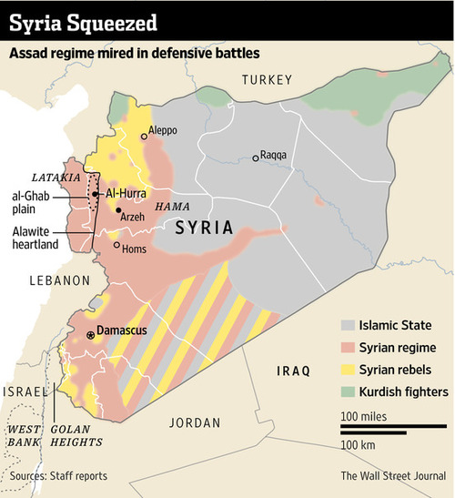 Syria OpEd The Problem With Obamas Grand Strategy Vs Islamic - Us strategic map