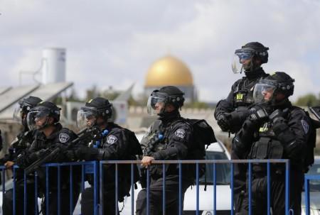 ISRAEL POLICE JERUSALEM