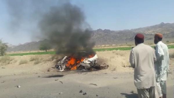 MANSOOR KILLED AFGHANISTAN SCENE