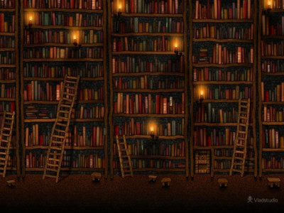 25 beautiful book wallpapers for your tablet, computer, and smartphone