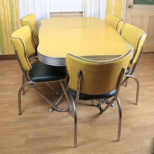 mid century modern kitchen table and chairs modern kitchen table Mid Century Modern Kitchen Table and Chairs