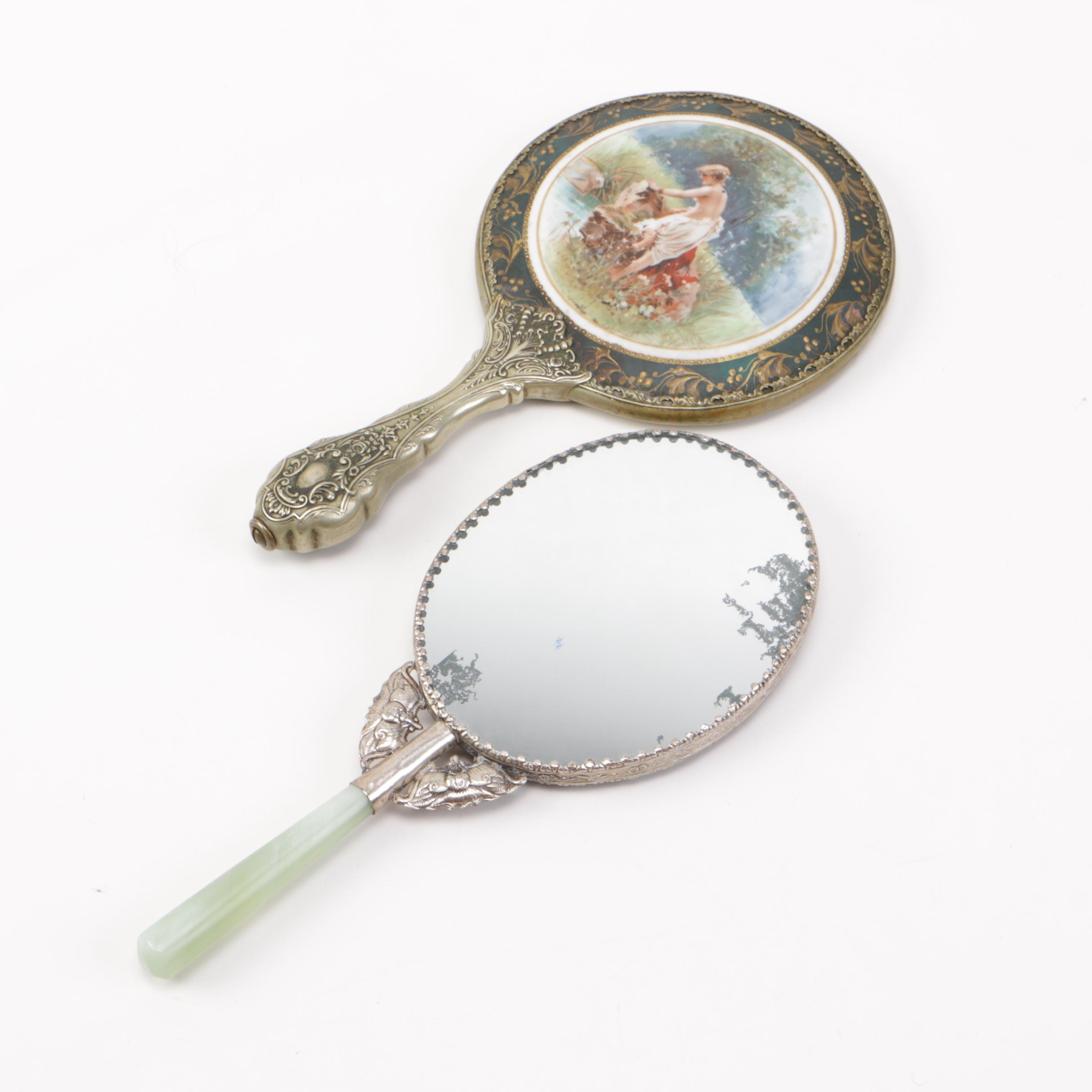Ornate hand mirror drawing 18th Century Victorian Era Ornate Hand Mirrors With Sterling Silver Jpg 2432x2432 Ornate Hand Mirror Drawing Mungfali Ornate Hand Mirror Drawing Wwwtopsimagescom