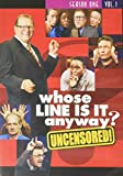Whose Line Is It Anyway? - Season 1, Vol. 1 (Uncensored)
