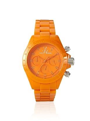 Toy Watch Monochrome Orange Plastic Watch