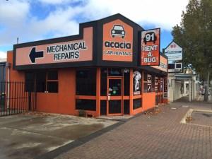 Around Australia Motorhomes Rentals Adelaide Depot