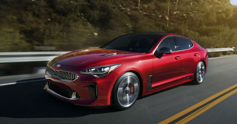 Kia Stinger Winning Awards as a New Model