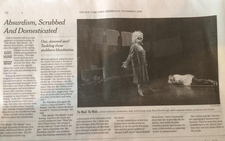 Laudi NYT review
