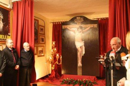 Presentación cuadro retablo