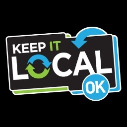 Photo from twitter.com (buy your keep it local card at www.keepitlocalok.com)