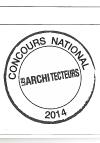 Concours architecteurs 2014