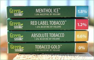 Green Smoke Tobacco Cartridges