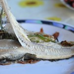 How to: fillet a whole cooked fish