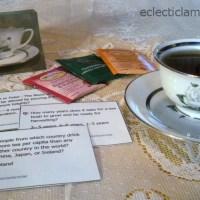 Tea Party Trivia Game
