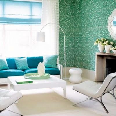 Color Schemes: Aqua and Green | ECLECTIC LIVING HOME