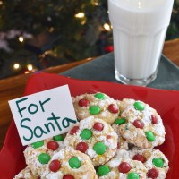M&M's® Holiday Snowflake Cookies