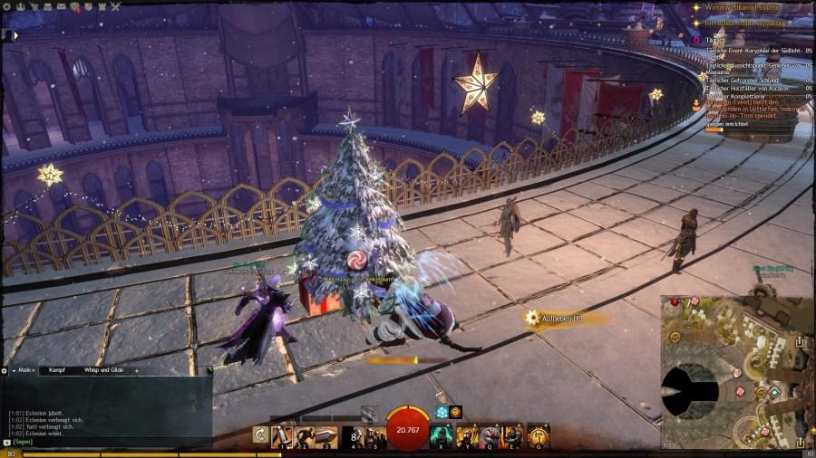 Weihnachtsbaum Kronpavillon