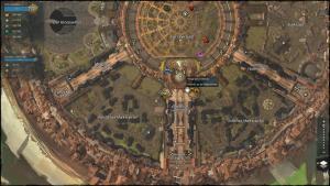 Karte Beispiel Götterfels