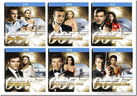 James Bond on Blu-ray