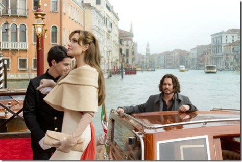 Jolie & Depp Arrive