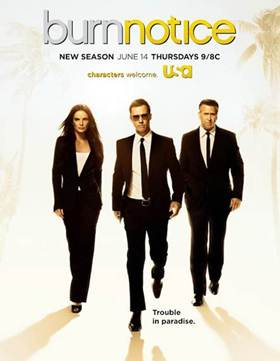 Burn Notice DVD Giveaway