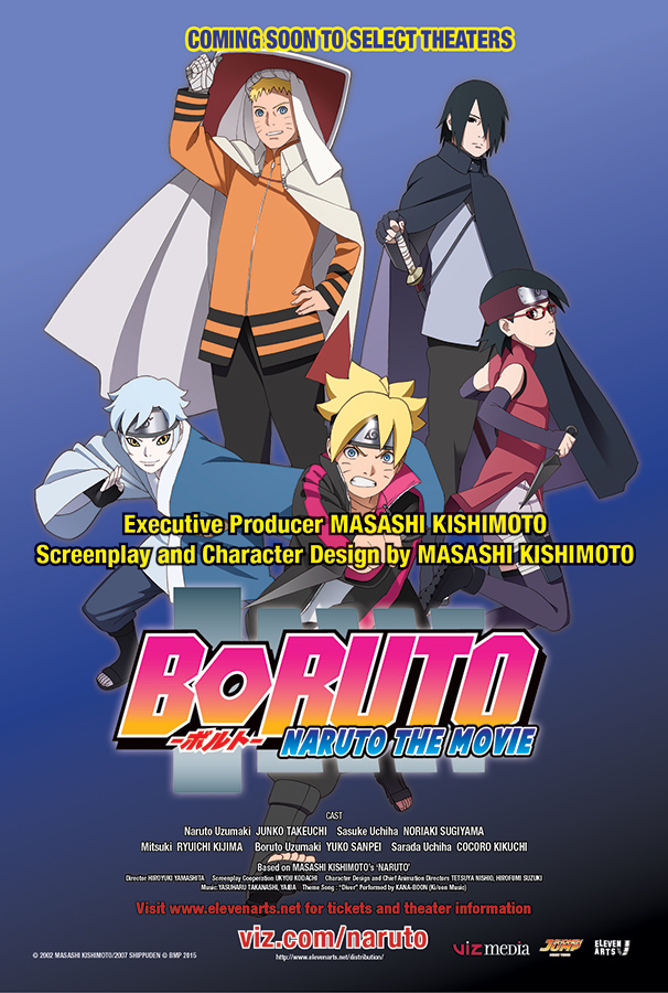 Phim Boruto Naruto the Movie-Gekijouban Naruto 2015