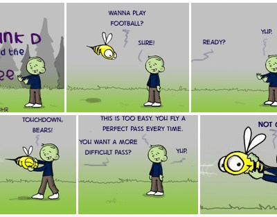 Hank D and the Bee: Are You Ready For Some Football?