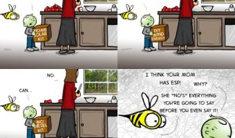 """Hank D and the Bee: Mothers """"no"""" best"""