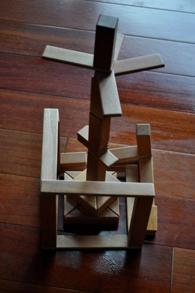 My Favorite Eco Wooden Blocks:  Tegu Summer Building Contest and Giveaway!!!