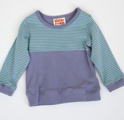 Organic Cotton Toddler Clothing:  Little Esop Building Blocks