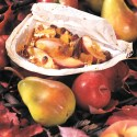 Vegetarian, Herbal Recipes:  Fall Fruit en Papillotte