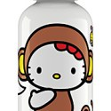 Hello Kitty Sigg Water Bottle:  Message on a bottle