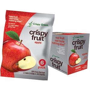 Crispy Green Crispy Fruit:  Asian Pear, Pineapple, Apple, & Tangerine